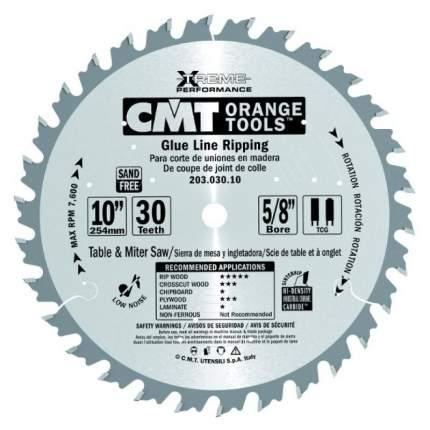Пильный диск CMT Ф254х30мм 30зуб. (203.030.10M)