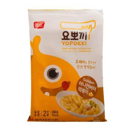 Рисовые клецки Youngt Poong топокки с соусом вкус сыра 240г Южная Корея