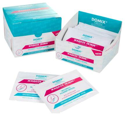 Жидкое лезвие Domix Green Professional (в одноразовой упаковке-саше), 20 штук по 17 грамм