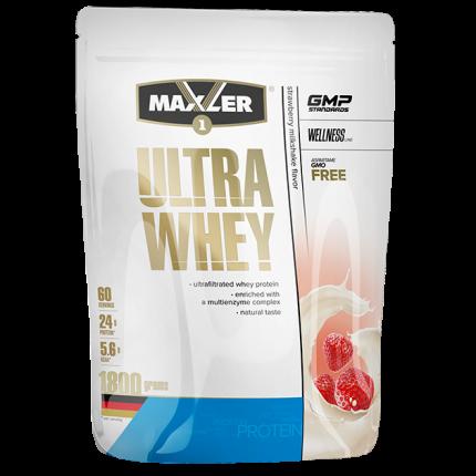 Протеин Maxler Ultra Whey, 1800 г, strawberry