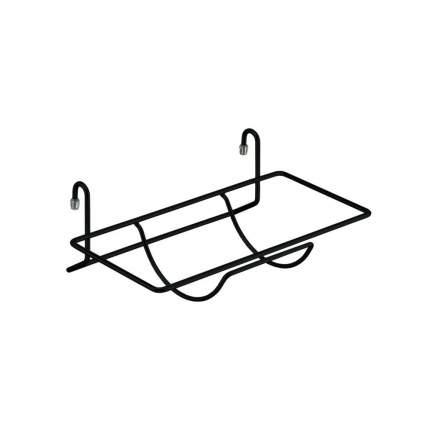 Полка для бумажного полотенца, черный матовый, YJ-G217 BL