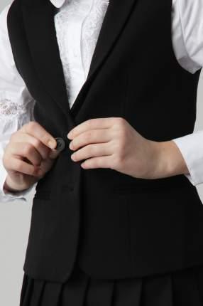 Черный жилет Gulliver 220GSGC4705, размер 140