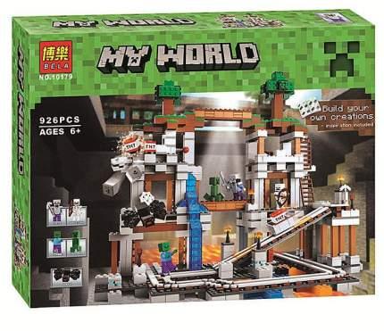 Конструктор Майнкрафт My World Шахта 63020/79074/10179/18011 Lari Bela