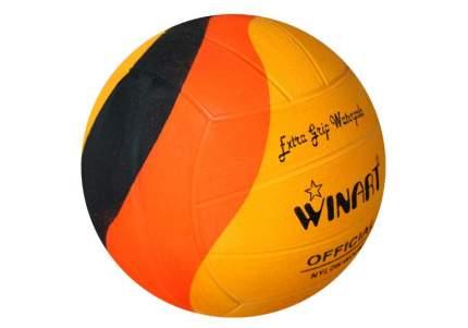 Мяч для водного поло Winart Swirl Orange (размер 5), оранжевый