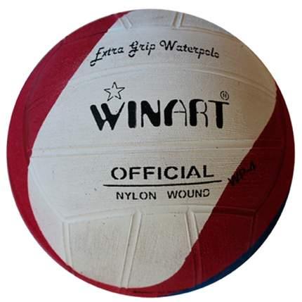 Мяч для водного поло Winart Swirl №4 красный/белый