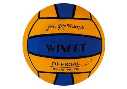 Мяч для водного поло Winart Stripped Yellow (размер 4), желтый