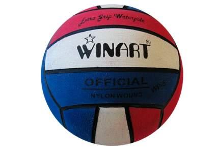 Мяч для водного поло Winart Stripped №5 red
