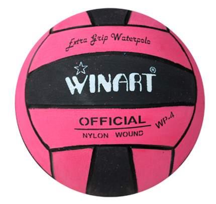 Мяч для водного поло Winart Stripped Pink (размер 4), розовый