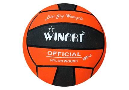 Мяч для водного поло Winart Stripped №5 orange