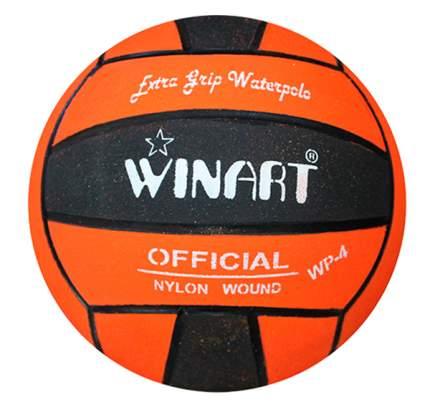 Мяч для водного поло Winart Stripped №4 оранжевый