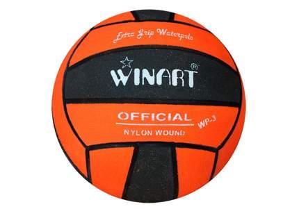 Мяч для водного поло Winart Official Black (размер 3) , оранжевый