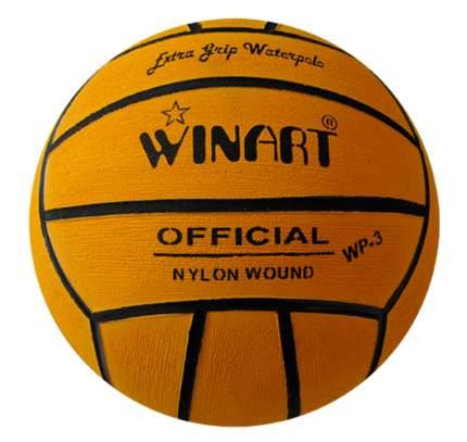 Мяч для водного поло Winart Official №3 оранжевый