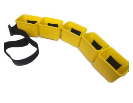 Тормозной пояс со стаканчиками Streda Ergosport Drag Belt желтый