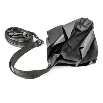 Пояс тормозной для плавания с парашютом StrechCordz Drag Belt, черный
