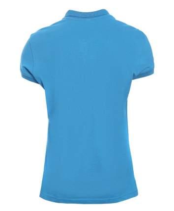 Поло женское KARIBAN W3 синее XL