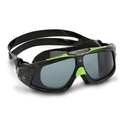 Очки-маска для плавания Aqua Sphere Seal 2.0 black/green