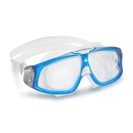 Очки-маска для плавания Aqua Sphere Seal 2.0 clear lens blue