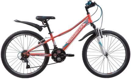 """Велосипед Novatrack Valiant 24 2019 10"""" coral"""