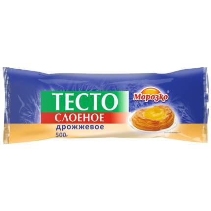 Тесто Морозко слоеное дрожжевое замороженное, 500г