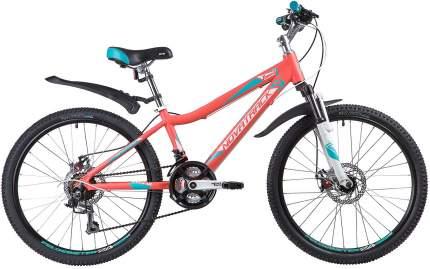 "Велосипед Novatrack Novara 24 D 2019 11"" coral"