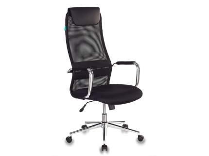 Компьютерное кресло Бюрократ KB-9N/BLACK, черный/серебристый
