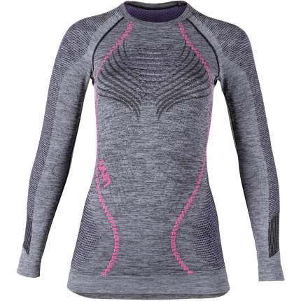 Термолонгслив Uyn Ambityon Lady Underwear Shirt Long Sleeves, black/purple/raspberry, L/XL