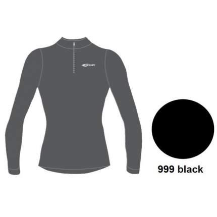 Термофутболка Accapi Tecnosoft Plus Long Sl.t-Shirt 1/2 Zip Lady, black, XS