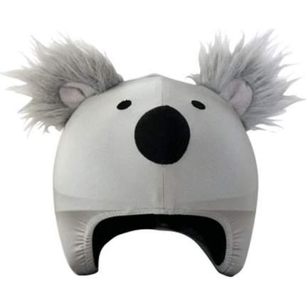 Нашлемник Coolcasc Koala 30 x 30 x 2 см серый/черный