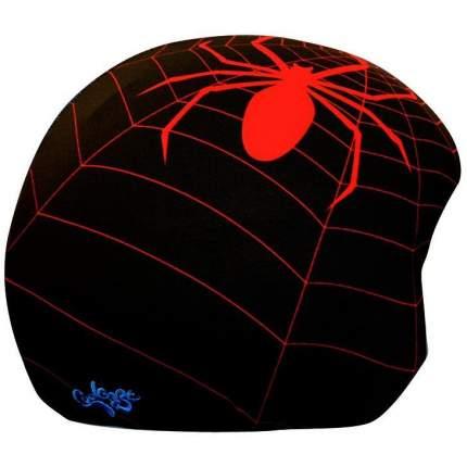 Нашлемник Coolcasc Spider 30 x 30 x 1 см красный/черный