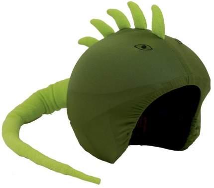 Нашлемник Coolcasc Iguana 30 x 30 x 2 см зеленый