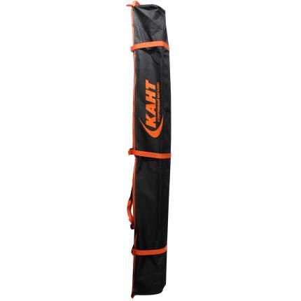 Чехол для горных лыж Кант Omega 1, оранжево-серый, 150 см