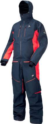Комбинезон Сноубордический Picture Organic 2019-20 Explore Suit Dark Blue Red (Us:xxl)