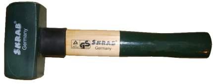 Кувалда кованая 1000г с деревянной ручкой SKRAB 20181