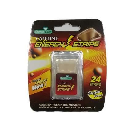 Полоски освежающие дыхание Energy Caffeine 24 пастилки