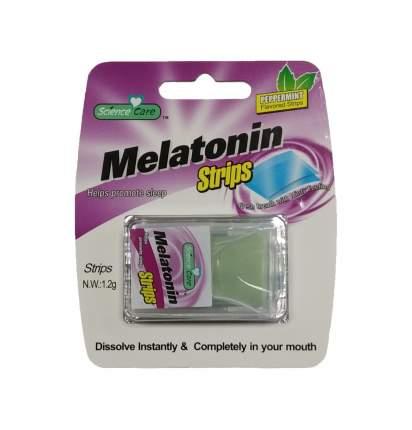 Полоски освежающие дыхание Melatonin 24 пастилки