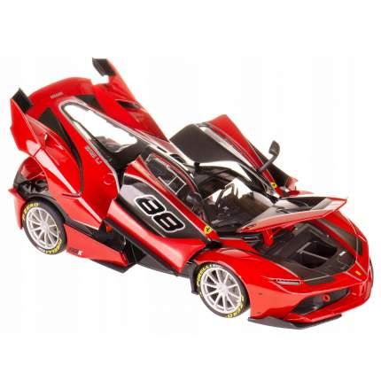 Bburago Коллекционная машинка Феррари 1:18 Ferrari FXX K, 18-16907, красный