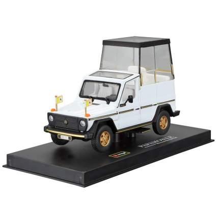 """Bburago Коллекционная машинка 1:43 """"Mercedes Benz PAPA Mobile"""", 18-31018, белый"""