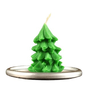 Свечи и подсвечники новогодние
