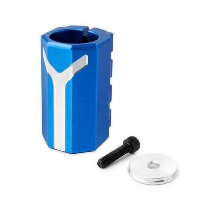Хомут-Y Fox Pro SCS d 28.6 and 31.8, 4 bolts синий