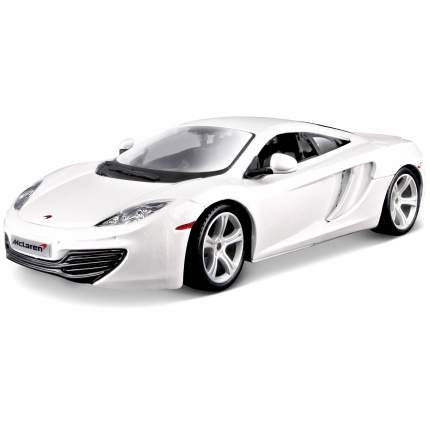 "Bburago ""Набор для сборки автомобиля BB 18-25119 1:24 CB KIT MCLAREN 12C, Белый"""