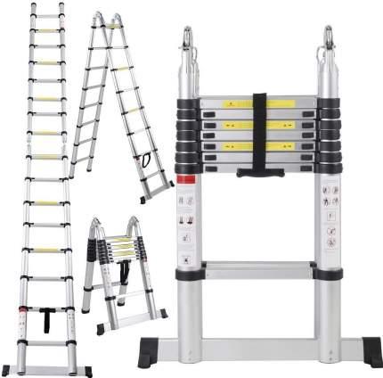 Стремянка телескопическая UPU Ladder UP560D