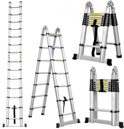Стремянка телескопическая UPU Ladder UP440D