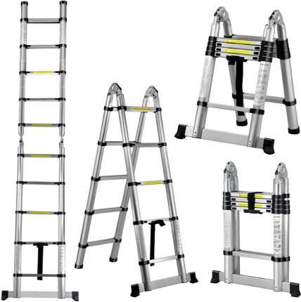 Стремянка телескопическая UPU Ladder UP320D
