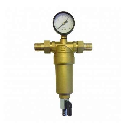 """Фильтр промывной с манометром ViEiR 1"""" для горячей воды (JH155)"""