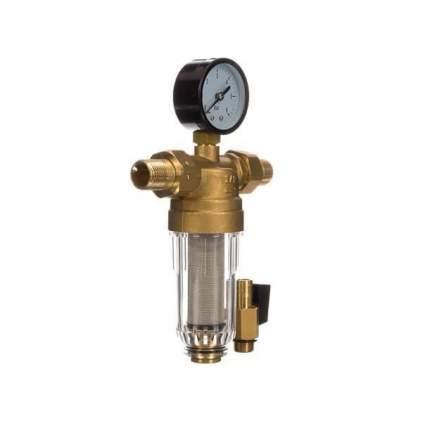 """Фильтр промывной с манометром ViEiR 1/2"""" для холодной воды (JC152)"""