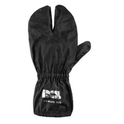 IXS дождевые перчатки VIRUS 3 black 2XL
