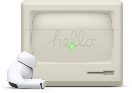 Чехол Elago Silicone AW3 для AirPods Pro Classic White