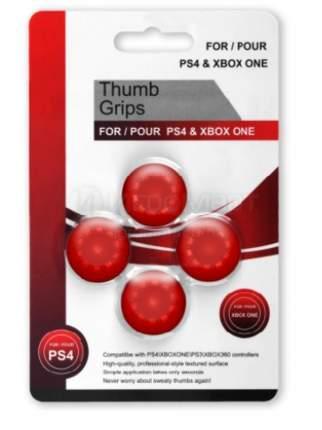 Насадки на джойстики Thumb Grips Красные (PS5,PS4,PS3,Xbox Series S/X,Xbox One,Xbox 360)