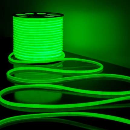 Неоновая светодиодная лента PJ Neon 1м, 8х16мм, 220В, 120 LED/m, IP 67