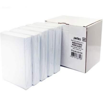 Фотобумага для принтера Perfeo PF-GLA6-230/500 Белый